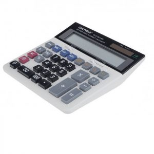 ماشین حساب رومیزی کاتیگا CD-2730-12 RP
