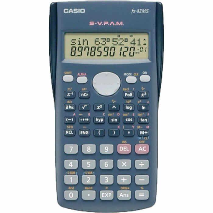 ماشین حساب مهندسی کاسیو FX-82ms