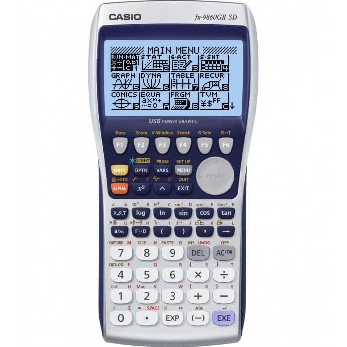 ماشین حساب کاسیو مدل fx-9860G II SD