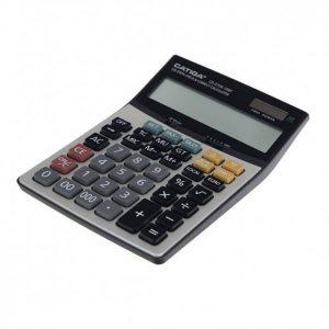 ماشین حساب رومیزی کاتیگا CD-2728-16 RP