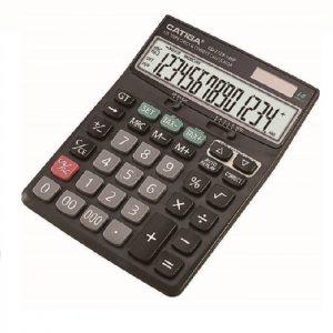 ماشین حساب رومیزی کاتیگا CD-2729-14RP
