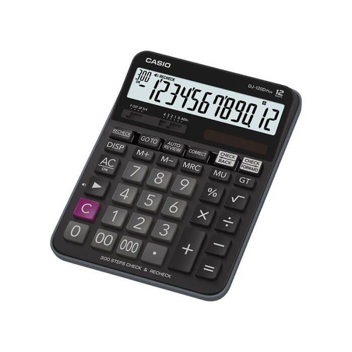 ماشین حساب رومیزی کاسیو Jj 120 Dplus