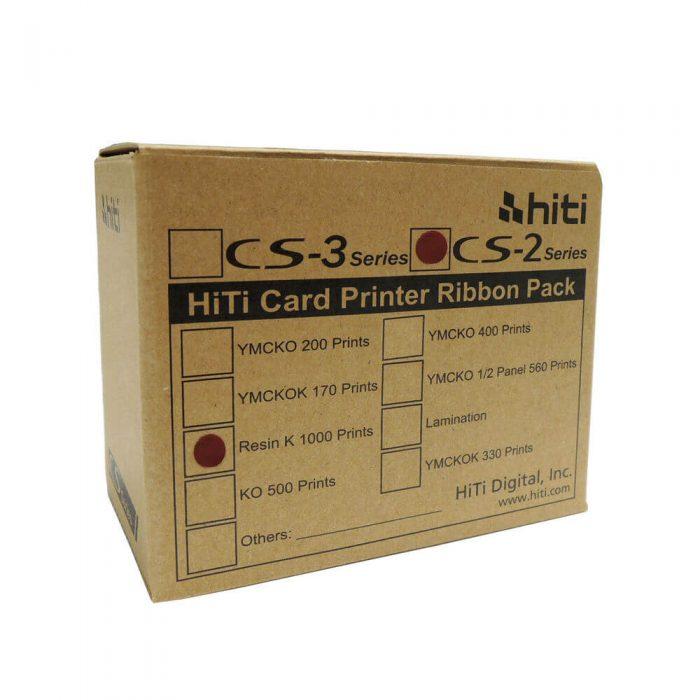 ریبون مشکی پرینتر هایتی مدل CS200 کد CS2-k