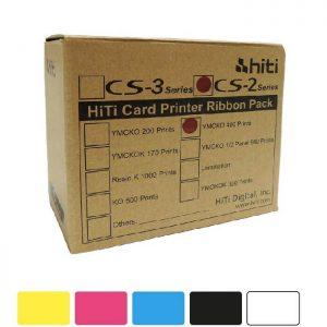 ریبون طرح تمام رنگی پرینتر هایتی مدل Hiti CS-e200