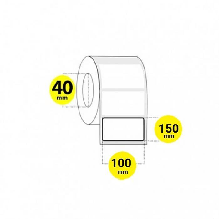 لیبل برچسب کاغذی 150×100