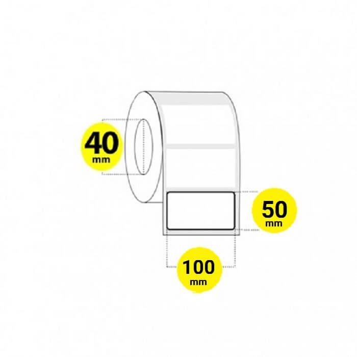 لیبل برچسب پی وی سی 50×100