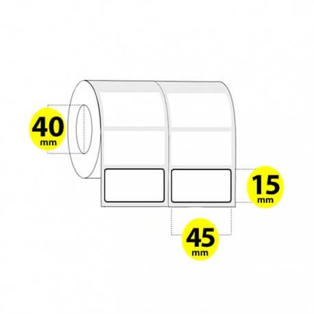 لیبل برچسب پی وی سی 45×15