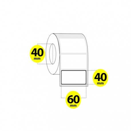 لیبل برچسب پی وی سی 60×40