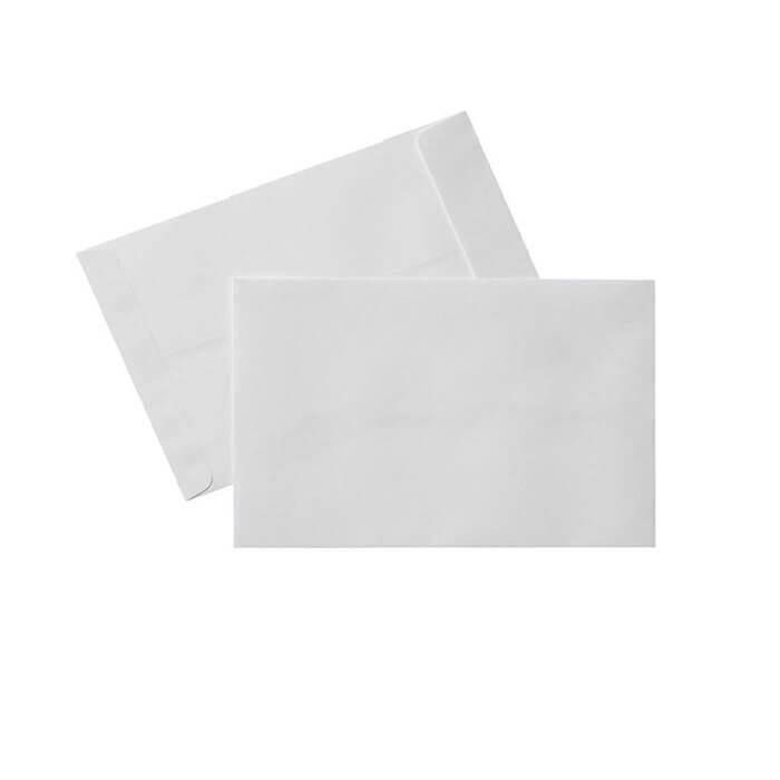 پاکت A5 سفید بسته 100 عددی