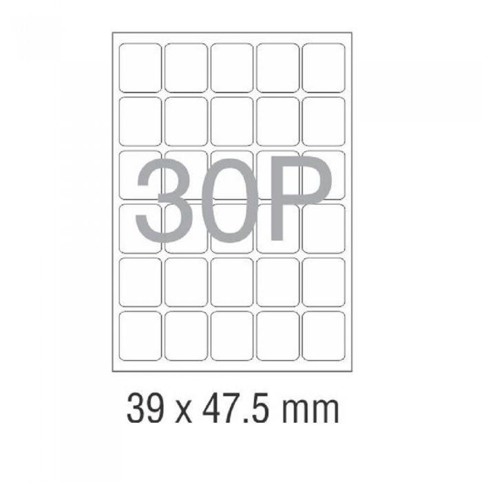 کاغذ پشت چسب دار A4 برش خورده نواجت مدل 30P