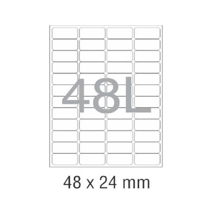 کاغذ پشت چسب دار A4 برش خورده نواجت مدل 48L