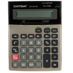 ماشین حساب رومیزی کاتیگا CD-3616 ll-16 RP