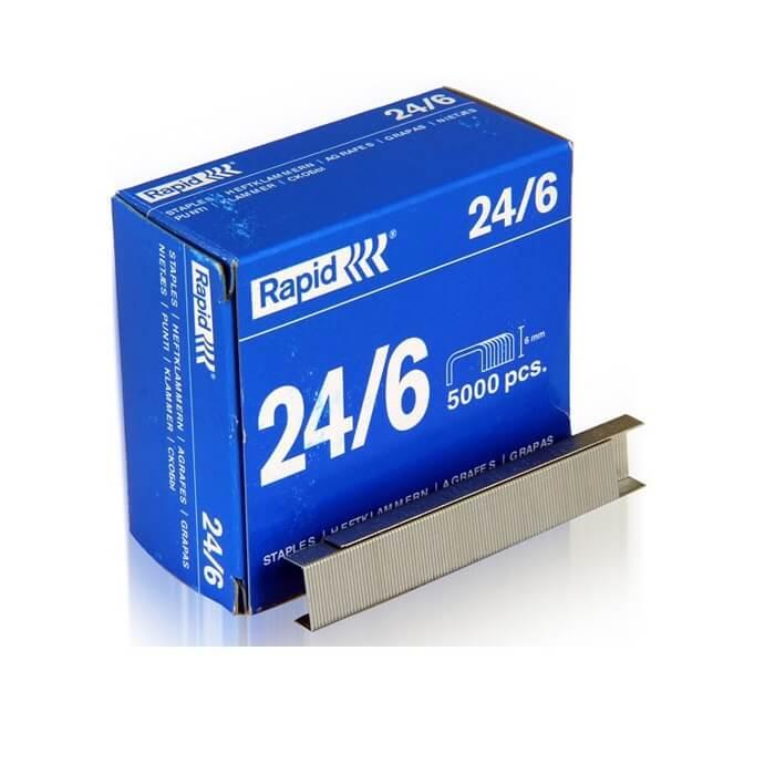 سوزن-منگنه-راپید-سایز-24/6-بسته 500- عددی