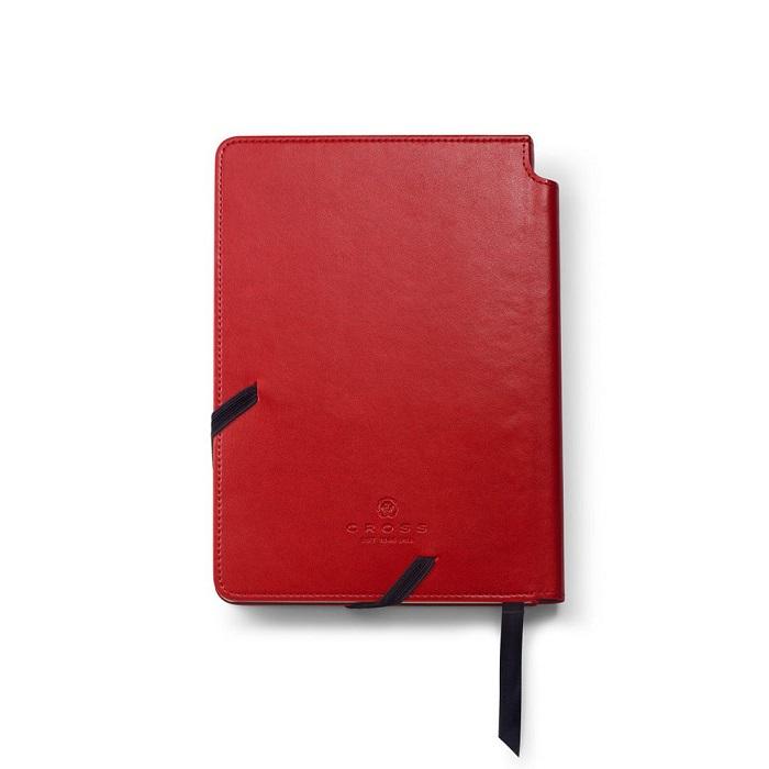 دفتر جلد چرمی با قلم کراس مدل Journal Medium