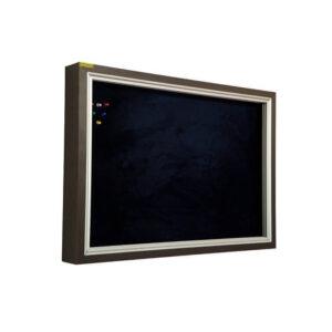 تابلو اعلانات شیشه خور MDF سایز 70×50