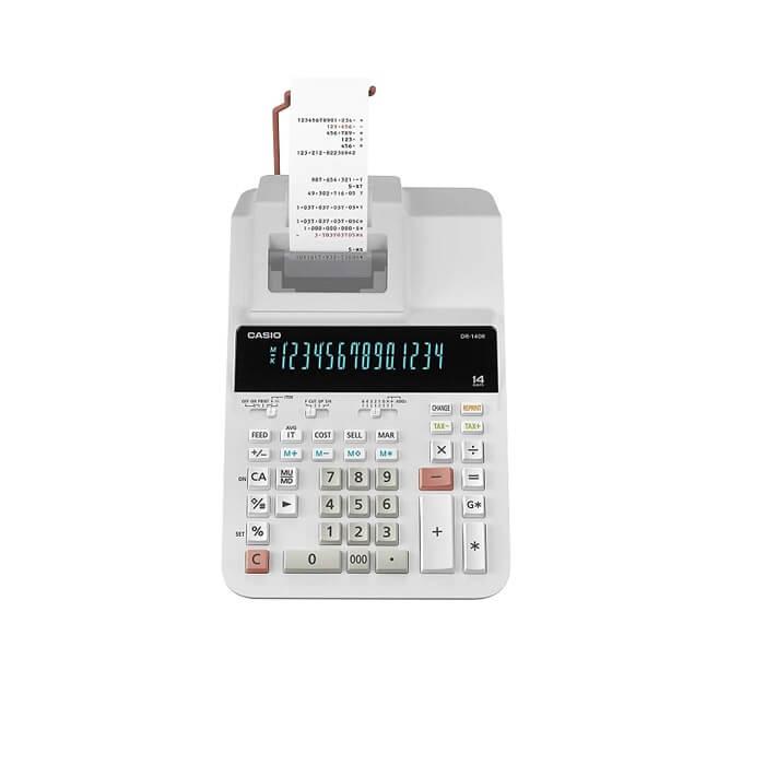 ماشین حساب کاسیو مدل DR-140R