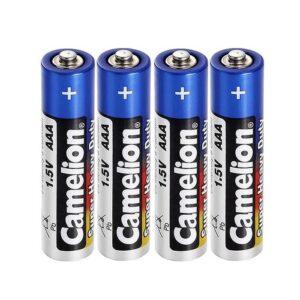 باتری قلمی کملیون مدل super heavu duty بسته 4 عددی
