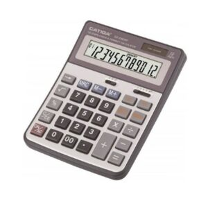 ماشین حساب رومیزی کاتیگا CD-2383-12RP