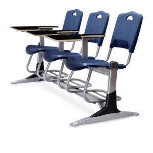 صندلی دانشجویی فایبرگلاس سه نفره شیدکو