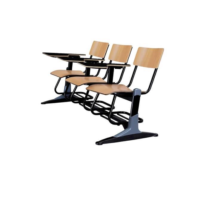 صندلی دانشجویی ام دی اف سه نفره شیدکو