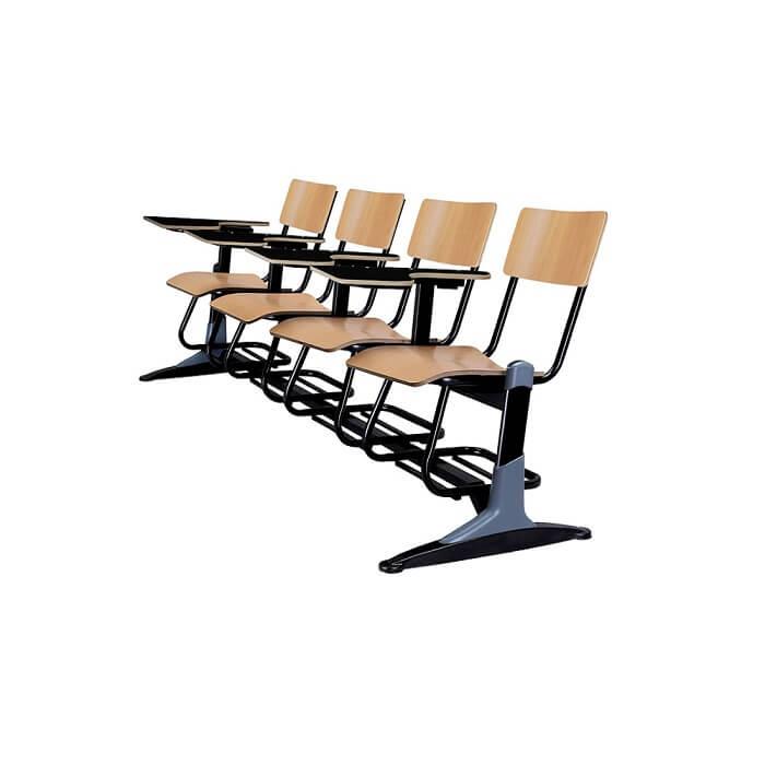 صندلی دانشجویی ام دی اف چهار نفره شیدکو